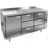 GN 133/BT P стол морозильный (без агрегата)