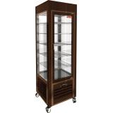 VRC 350 Brown FR витрина кондитерская вертикальная