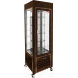 VRC 350 R Brown FR витрина кондитерская вертикальная