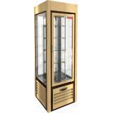 VRC 350 R Sh Beige FR витрина кондитерская вертикальная