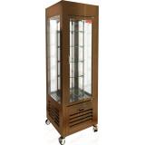 VRC 350 R Bronze витрина кондитерская вертикальная