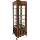 VRC 350 Bronze FR витрина кондитерская вертикальная