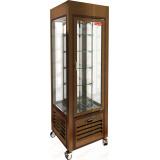 VRC 350 R Bronze FR витрина кондитерская вертикальная