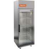 A70/1BV шкаф морозильный со стеклянными дверьми