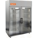 A140/2BV шкаф морозильный со стеклянными дверьми