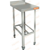 НСО-4/6Б ЭЦ стол пристенный с полкой решеткой