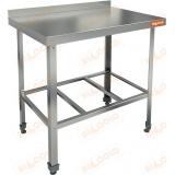 НСО-10/7Б ЭЦ стол пристенный с полкой решеткой