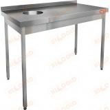НДСО-10/6БЛ стол пристенный для сбора отходов