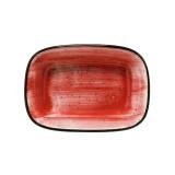 Bonna PASSION AURA Блюдо прямоугольное APS GRM 12 DKY (12 см, красный)