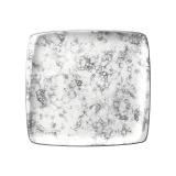 Bonna Rocks Black Тарелка квадратная RBL MOV 19 KR (15x14 см, черный)