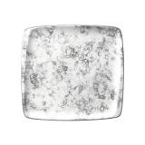 Bonna Rocks Black Тарелка квадратная RBL MOV 41 KR (32x30 см, черный)