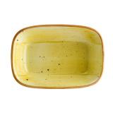 Bonna AMBER AURA Блюдо прямоугольное AAR GRM 14 DKY (14 см, желтый)