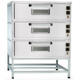 Шкаф пекарский Abat ЭШП-3-01 (320 °C) нерж. (21001801142)