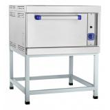 Шкаф жарочный газовый Abat ШЖГ-1, краш. подставка, эмалированная духовка