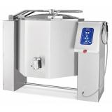 Котел пищеварочный электрический КПЭМ-250-О со сливным краном, 250 л, электропривод, +110°С, пар. рубашка, цельнотянутый