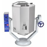 Котел пищеварочный Abat КПЭМ-60-ОМР, нижний привод миксера, со сливным краном