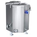 Котел пищеварочный паровой Abat КПЭМ-250П: работа от внешнего парогенератора
