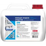 Жидкое щелочное концентрированное моющее средство для посудомоечных машин Abat DW (5 л)