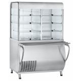 Прилавок-витрина холодильный ПВВ(Н)-70М-С-01-НШ (саладетта закрытая, с г/е)