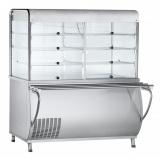 Прилавок-витрина холодильный ПВВ(Н)-70М-С-ОК с охл. камерой