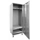 Шкаф для одежды ШРО-6-0 нерж.