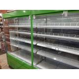 Холодильная горка Crosby (Кросби) ВС 1.70G-2500 (стеклянный фронт, встройка)