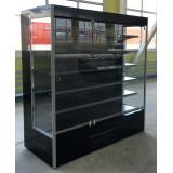 Холодильная горка Ливерпуль ВУ 48GL-1250 (стеклянный фронт)