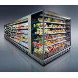 Холодильная горка Davos ВС64 105L-2200 гастрономическая (торец)
