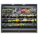 Холодильная горка Davos ВС64 105H-2200F фруктовая (торец)