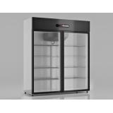 Шкаф холодильный Ария A1400VC (стеклянные двери-купе)