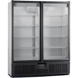 Шкаф холодильный Рапсодия R1400VSX (стекл. двери, нерж.)