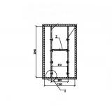 Специальная медицинская холодильная камера КХСМ-3 (2560х1360х2200)