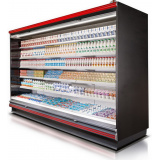 Холодильная горка гастрономическая Gratia ВС 28.105GH-2500 (со стеклом)