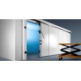 Дверь откатная изотермическая 1000х2400 (100 мм)