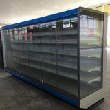 Холодильная горка Лаура ВС22GL-2500 фруктовая