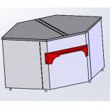 Расчетный стол для витрин Титаниум ВС-5-УВ (угол внутренний)