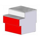 Прилавок Илеть Cube (760) расчетно-кассовый неохлаждаемый