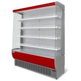 Пристенная холодильная витрина Флоренция ВХСп-1,9