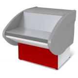Прилавок Илеть 600 расчетно-кассовый неохлаждаемый (красный)