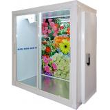 Холодильная камера МХМ КХ-4,41 (со стеклопакетом, двери купе + стандартная распашная дверь)
