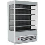 Пристенная витрина FС 20-08 VM 1,0-2 0430 (Carboma Cube 1930/875 ВХСп-1,0 INOX)