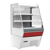 Полувертикальная холодильная витрина F 13-07 VM 1,3-2 (Carboma 1260/700 ВХСп-1,3 стеклопакет)