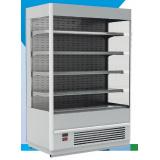 Пристенная витрина FС 20-07 VM 1,0-2 (Carboma Cube 1930/710 ВХСп-1,0) RAL 9006, 9005