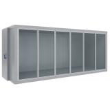 Холодильная камера со стеклянным фронтом Polair КХН-12,28 (-15...-23°C)