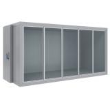 Холодильная камера со стеклянным фронтом Polair КХН-10,28 (-15...-23°C)