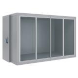 Холодильная камера со стеклянным фронтом Polair КХН-8,81 (-15...-23°C)
