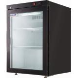 Холодильный шкаф Polair DM102-BRAVO (черный, с замком)