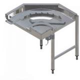 Стол для чистой посуды Electrolux HSTT9LA 865048 (угол 90)