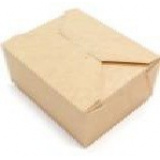 Контейнер бумажный Fold Box, Крафт, 600 мл.