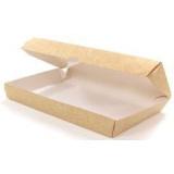 Контейнер бумажный Meal Box, Крафт, 1000 мл.